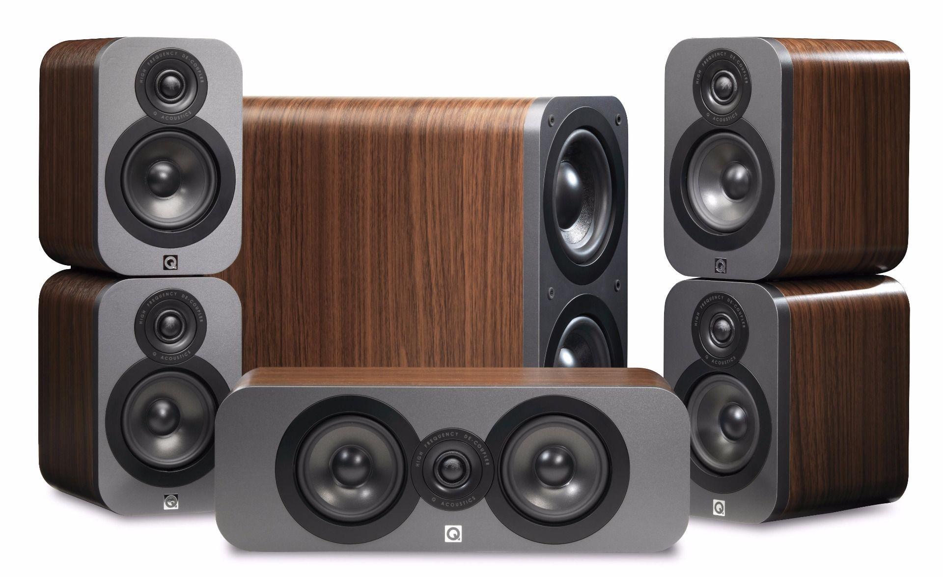 Q Acoustics: Q3000 Cinema Pack 5.1 – Walnoot kopen