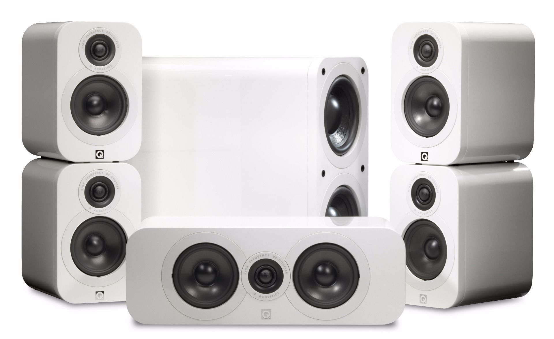Q Acoustics: Q3000 Cinema Pack 5.1 – Wit kopen