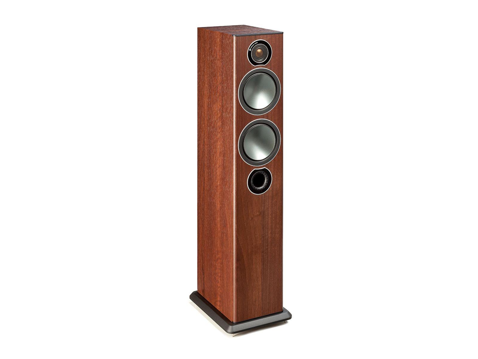 Monitor Audio: Bronze 5 Vloerstaande Speakers 2 stuks - Walnut