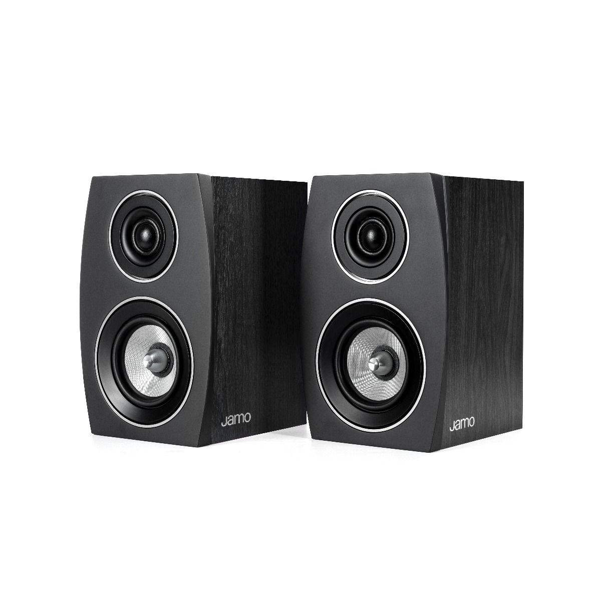 Jamo: C 91 II Boekenplank Speaker - 2 stuks - Zwart