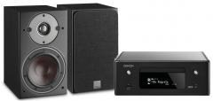 DoubleDeal: Denon RCD-N10 + Dali Oberon 1 Stereo Set - Zwart