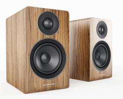 Acoustic Energy: AE100 boekenplank speakers (2 stuks) - Walnoot