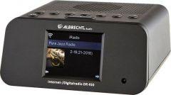 Albrecht: DR450 DAB+/FM/Internet Radio wekker