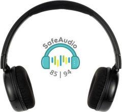 Buddyphones: POP Over-ear BT hoofdtelefoon - Zwart