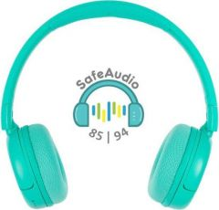 Buddyphones: POP Over-ear BT hoofdtelefoon - Turqoise