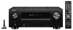 Denon: AVC-X3700H 9.2-Kanaals 8K AV-Receiver - Zwart