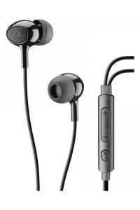 AQL: Acoustic Plus In-Ear Hoofdtelefoon incl. MIC - Zwart