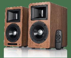 Edifier: Airpulse A80 Actieve speakers - Walnoot