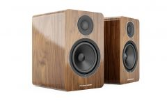 Acoustic Energy: AE1 Actieve Boekenplank Speakers 2 stuks - Walnoot