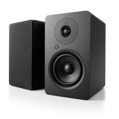 Argon Audio: ALTO 5 Actieve Boekenplank Speakers 2 stuks - Zwart