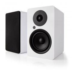Argon Audio: ALTO 5 Actieve Boekenplank Speakers 2 stuks - Wit