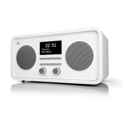 Argon Audio: RADIO3 FM/DAB+ Tafelradio met Bluetooth - Wit
