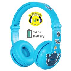 Buddyphones: Play Over-ear BT hoofdtelefoon - Blauw