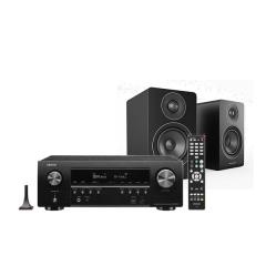 Doubledeal: Denon Avr-s750H receiver + Acoustic Energy AE100 speakers - Zwart