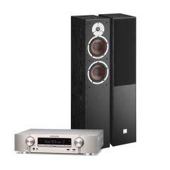 Doubledeal: Marantz NR1510 Zilver + Dali Spektor 6 speakers zwart