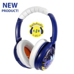 Buddyphones: Cosmos BT over-ear hoofdtelefoon - Blauw