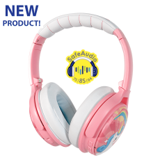 Buddyphones: Cosmos BT over-ear hoofdtelefoon - Roze