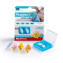 Alpine: Pluggies Kids Earplugs / Oordoppen - Wit