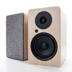 Argon Audio: ALTO 5 Actieve Boekenplank Speakers 2 stuks - Essenhout