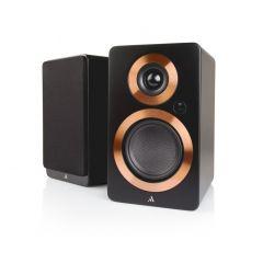 Argon Audio: FORTE A4 Actieve Boekenplank Speakers 2 stuks - Zwart