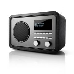Argon Audio: RADIO1 FM/DAB+ Tafelradio - Zwart Essenhout