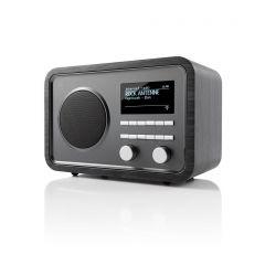 Argon Audio: RADIO2i Internet Radio - Zwart Essenhout
