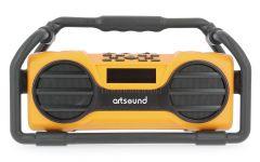 ArtSound: U6 Oplaadbare Digitale All-round Radio - Geel