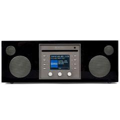 Como Audio: Musica - DAB + / FM-radio met internetradio en CD-speler - Zwart