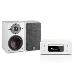 DoubleDeal: Denon RCD-N10 + Dali Oberon 1 Stereo Set - Wit