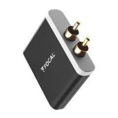 Focal: Universele Wireless aptX Bluetooth Ontvanger - Zwart