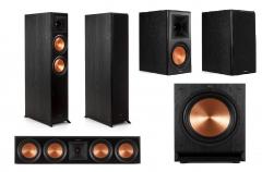 Klipsch: RP-8000F Home Cinema 5.1 Systeem - Zwart