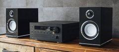 Magnat: MC 100 CD-Receiver Quantum Edelstein Set - Zwart
