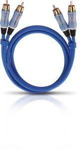 Oehlbach: BEAT! Stereo RCA Kabel 1,0m - Blauw