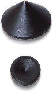 Oehlbach: Mini Spikes - 4 stuks - Zwart
