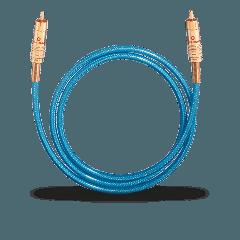Oehlbach: NF113 DI 100 Digitale Audiokabel RCA 1,0 meter - Blauw