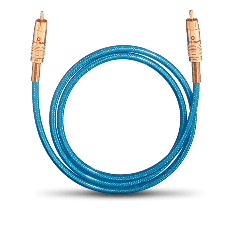 Oehlbach: NF113 DI 300 Digitale Audiokabel RCA 3,0 meter - Blauw