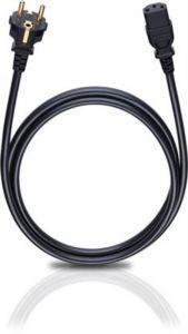 Oehlbach: Voedingskabel C13 Trapezium - 5 meter - Zwart