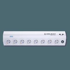 Oehlbach: Power Socket 905 Stekkerdoos - Wit