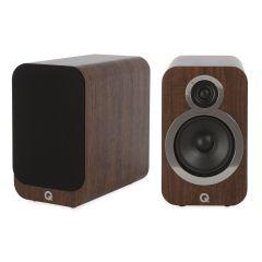 Seconddeal: Q Acoustics 3020i Boekenplank Speakers 2 Stuks - English Walnut