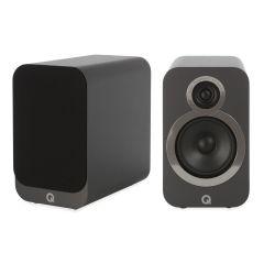 Q Acoustics: 3020i Boekenplank Speakers 2 Stuks - Graphite Grey