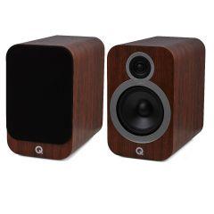 Q Acoustics: 3030i Boekenplank Speakers 2 stuks - Walnut