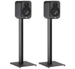 Q Acoustics: Q3000ST Speaker Stand - 2 stuks - Zwart