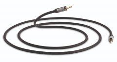 QED: Performance J2J 3.5mm Mini Jack Kabel 1,5 meter - Zwart