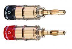 Oehlbach: Banana Solution Stekker 3020 < 6mm² - 4 stuks - Goud
