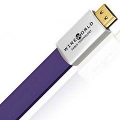 Wireworld: Ultraviolet 7 HDMI-Kabel Silver-Plated OFC - 0,6 Meter