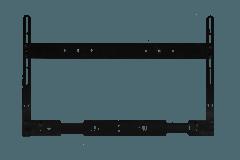 Cavus: HEHCF Frame voor HEOS HOMECINEMA - Zwart