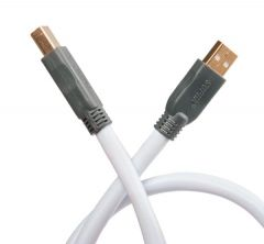 Supra: USB 8,0m Usb kabel - Wit