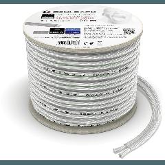Oehlbach: SP-15 Silverline Luidsprekerkabel (2 x 1,5 mm) - 20 meter