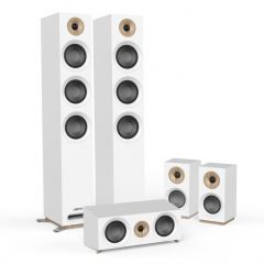 Doubledeal: Jamo S809 HCS - Wit + Gratis speakerkabel (2 X 2,5 mm) - 20 mtr