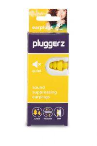 Pluggerz: Quiet earplugs - Geel